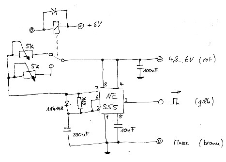 RC Servos als Laserstrahl-Schalter - www.LaserFreak.net